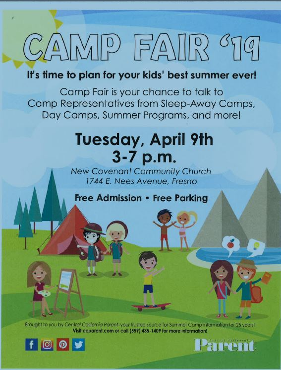 Camp Fair April 9th!