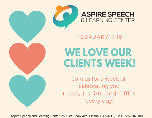 We Love Our Clients Week!